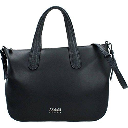 Armani Jeans Donna Borse a mano 922244 7A789 07320 WOMENS SHOPPING BAG Nero