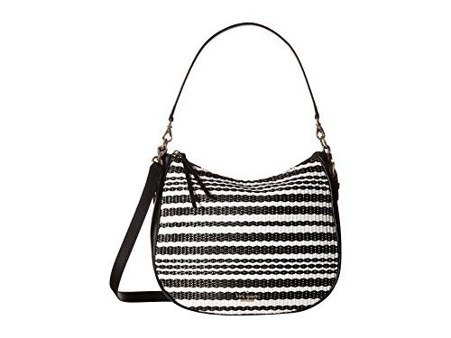 Kate Spade New York Women's Cobble Hill Straw Mylie Black/Cement ()