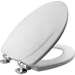 Mayfair 130chslb 000 Designer Series Wood Toilet Seat With