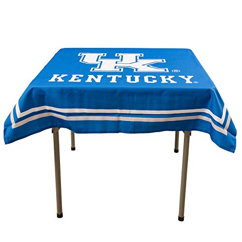 (College Flags and Banners Co. Kentucky Wildcats Logo Tablecloth or Table Overlay)