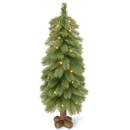 National Tree 24 Inch Feel Real Bayberry Spruce Tree with 15 Warm White  Battery Operated LED - Amazon.com: National Tree 24 Inch Feel Real Bayberry Spruce Tree