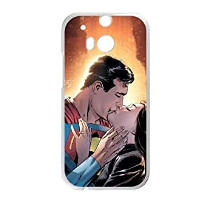 Superman HTC One M8 Cell Phone Case White K061019