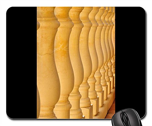 Mouse Pads - Columns Balusters Stones Symmetry Architecture
