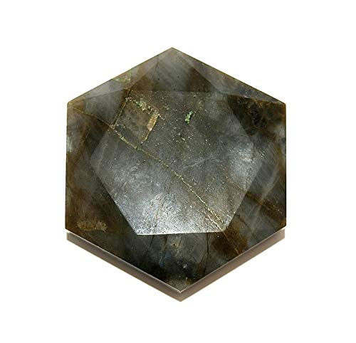 Labradorite Crystal Healing Tool Large Star of David SODLAB1914 by Gifts and Guidance
