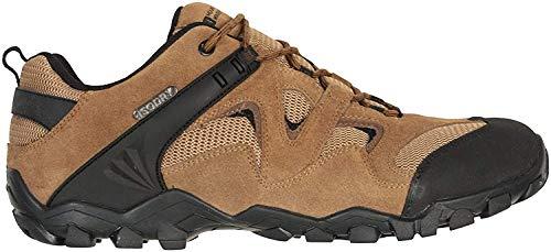 Mountain Warehouse Chaussures de Marche imperméables Curlews pour Homme - Bottes en Daim et Maille à séchage Rapide… 1