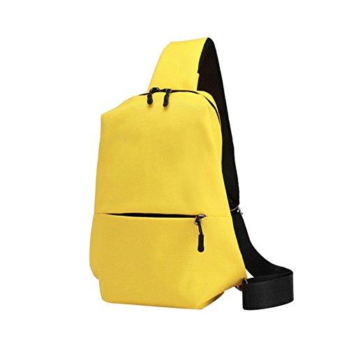 Originaltree - Bolso al hombro para hombre Grey + Black talla única Amarillo