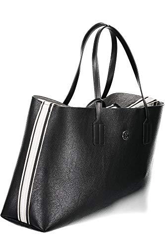 Hilfiger Tote Tommy Handbag Noir Met Cool 14qqwP