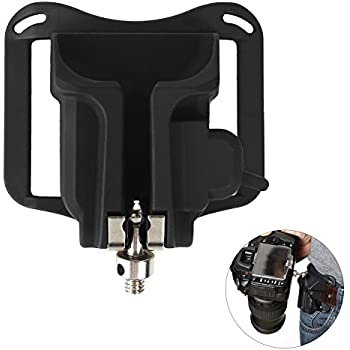 Acediscoball Camera Holster Buckle Waist Belt Lightweight Hanger Clip for DSLRs Camera