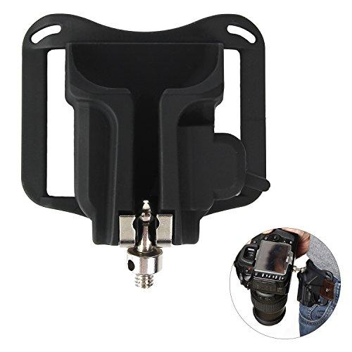 - Camera Belt Clip Holster Holder Waist Strap Buckle Button,DSLR Camera Hanger Fast Loading for Sony/Canon/Nikon/Olympus/Fuji