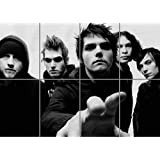 MY CHEMICAL ROMANCE BAND GIANT ART PRINT POSTER PICTURE ST814