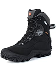 Manfen Womens Mid-Rise Waterproof Hiking Boot