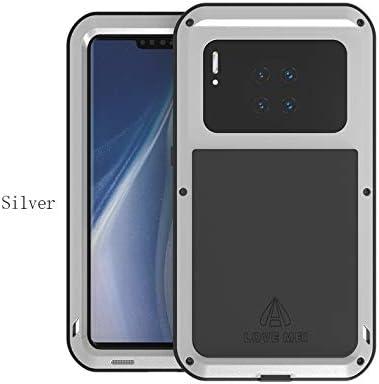 BQQ Funda para Huawei Mate 30 Pro, Caso Cover de Metal Resistente ...