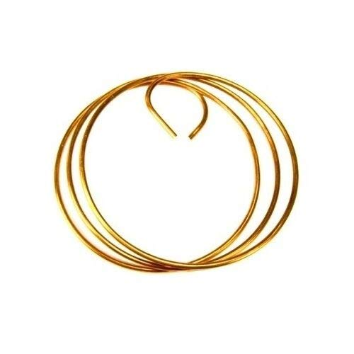 10' Coil of #6 Solid Copper Wire Tower Grounding - Compatible with ROHN CW6S ()