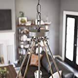Kenroy Home Rustic 5 Light Chandelier,24.5-31.5