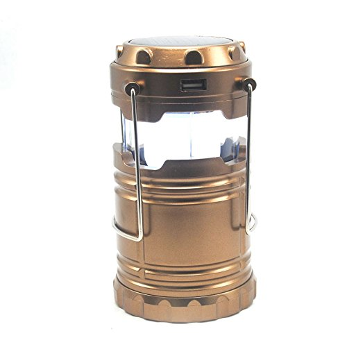 Telescopic Solar Chargable Camping Lights Outdoor Portable Emergency LED Lantern