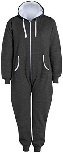 Fashion Oasis Men`s Aztec Print Onesie Zip Up All in One Hooded Jumpsuit