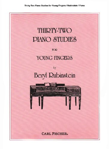 O2527 - Thirty-Two Piano Studies for Young Fingers (Thirty Fingers)