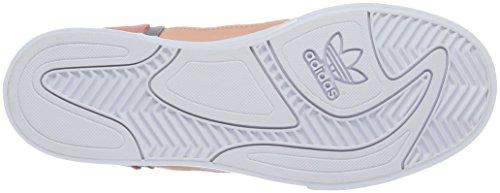 adidas Damen Extaball High-Top, Schwarz Pink (Dust Pink/Ftwr White/Grey)