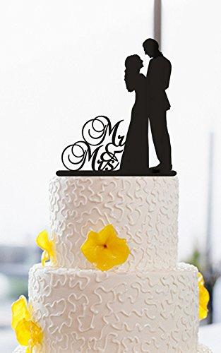 Hochzeit Tortenaufsatz Braut Und Brautigam Herr Und Frau Vintage