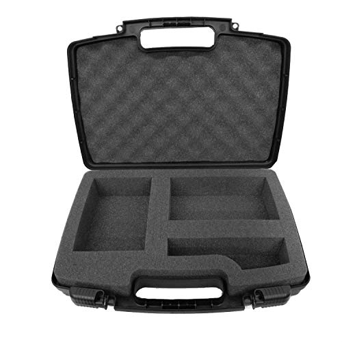 Secure Hard Body Carrying Case with Dense Foam Made for Canon SELPHY CP1200/CP1300 Wireless Compact Portable Photo Printer, Charger Adapter, Cables, Battery, Color Ink Paper and More (Adapter Wireless Canon Printer)
