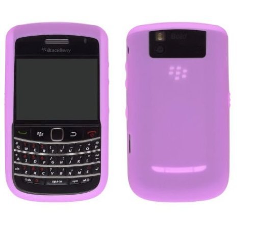 - OEM PINK Blackberry Silicone Rubber Gel Skin Case Cover for Tour 9630 and Bold 9650