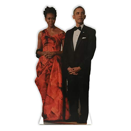 Wet Paint Printing + Design MH25100-12 Michelle and Barack Obama 12 INCH Desktop Legends Acrylic Statuette