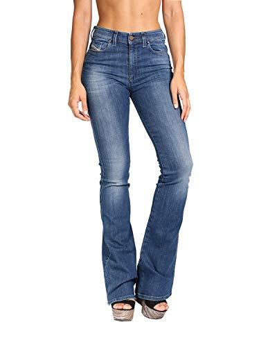 Diesel - Women's Jeans Skinzee-Flare H 826F - Super Slim Flare - Super Stretch - Blue, W26 / (Diesel Flare Jeans)