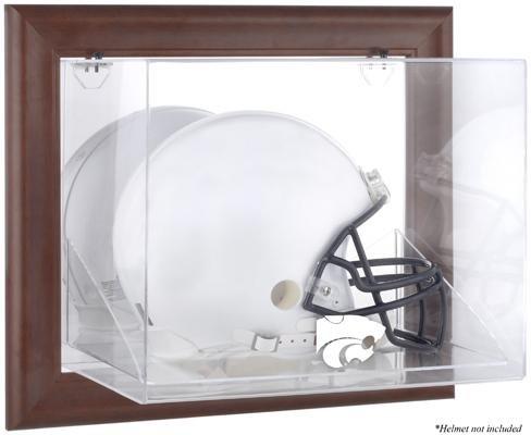 Kansas State Wildcats Framed Wall Mountable Helmet Display Case by Sports Memorabilia