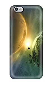 Hot XZvvZfW8127ELmPb Case Cover Protector For Iphone 6 Plus- Planets Sci Fi People Sci Fi