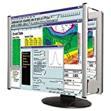 (3 Pack Value Bundle) KTKMAG17L Lightweight, LCD Monitor Magnifier Filter, Fits 17'' LCD Screen