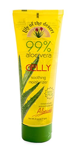 Lily of The Desert Aloe Vera Gelly Soothing Moisturizer, 8 Ounce