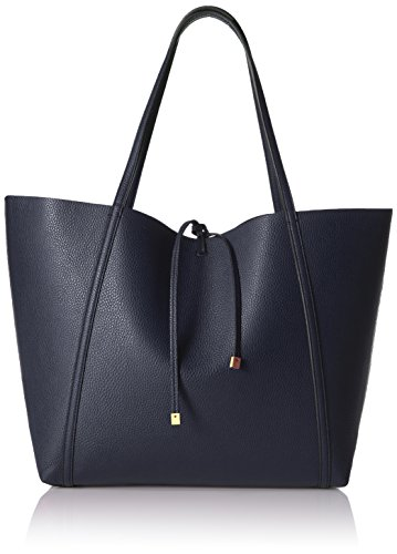 A|X Armani Exchange Large Tote, Evening Blue, One Size by A|X Armani Exchange