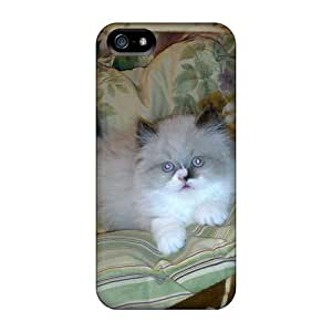 Tpu Fashionable Design My Cat Daisy Rugged Case Cover For Iphone 5/5s New by icecream design