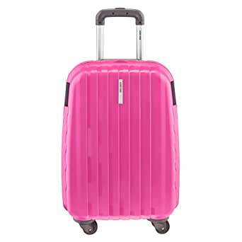 Delsey Luggage Helium Colours Carry On Spinner Trolley, Rose, One Size