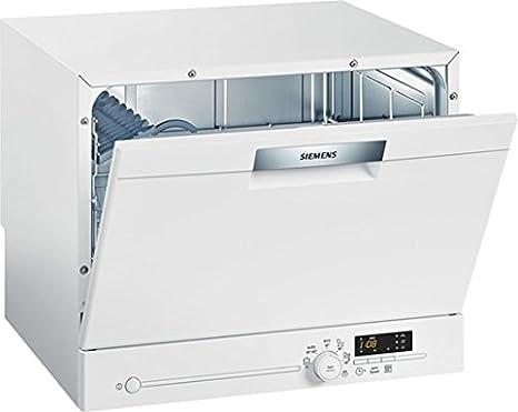 Siemens - Lavavajillas Siemens Sk26E200Eu, 6 Cubiertos, Temp ...