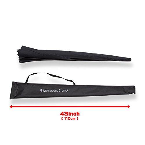 UNPLUGGED STUDIO 70inch White Umbrella (16 Fiberglass Ribs) by UNPLUGGED STUDIO (Image #3)