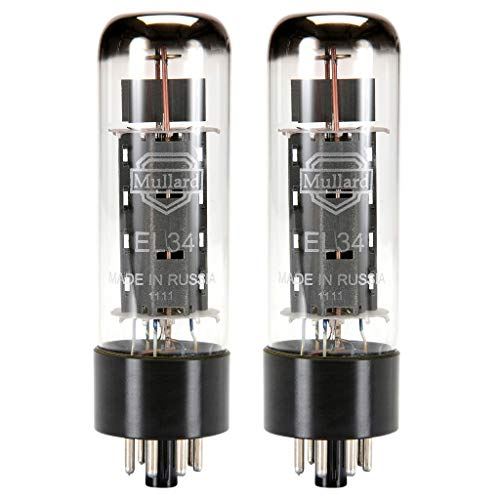 - Mullard Reissue EL34 Power Vacuum Tube, Matched Pair