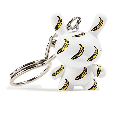 Kidrobot Andy Warhol Dunny Keychain - Banana Pattern -