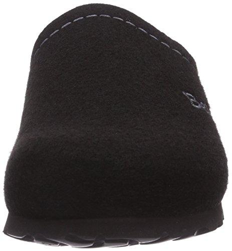 Betula House - Zuecos de material sintético Unisex adulto negro - negro