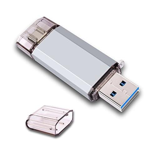 RAOYI 32GB USB 3.0 Type C Dual OTG Flash Drive USB C Thumb Drive