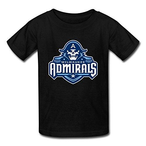Breely Kid's Milwaukee Admirals New Logo T Shirt