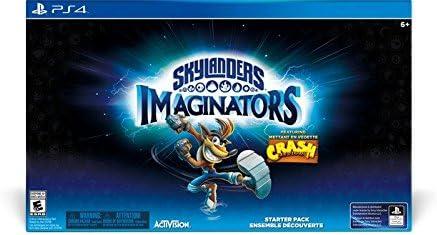 Activision Skylanders: Imaginators - Starter Pack, Crash Edition, PS4 - Juego (Crash Edition, PS4, PlayStation 4, Acción / Aventura, Toys For Bob, E10 + (Everyone 10 +), DEU, Starter pack): Amazon.es: Videojuegos