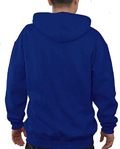 E5 NCAA Men's Audible Embroidered Full Zip Hoodie Sweatshirt (XX-Large, Duke Blue Devils)