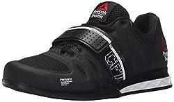 Reebok Women's Crossfit Lifter 2.0 Training Shoe, Black/White, 5 M US