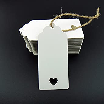 100pcs white kraft paper tag blank for wedding favour cardsgift 100pcs white kraft paper tag blank for wedding favour cardsgift tagdiy tag solutioingenieria Choice Image