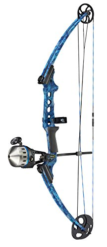 Cheap Gen-X Cuda Bowfishing Kit, Blue Water Camo, Left