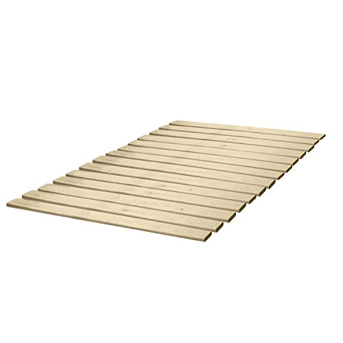 Classic Brands Solid Wood Bed Support Slats | Bunkie Board, Queen