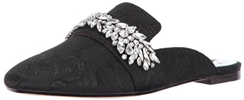 Badgley Mischka Womens Kana Slipper Black