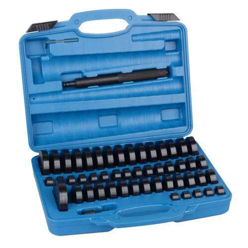 Bushing Driver Set 51pcs, Seal Installer Removal Press Tool Bearing Seal Driver Set 18-65mm