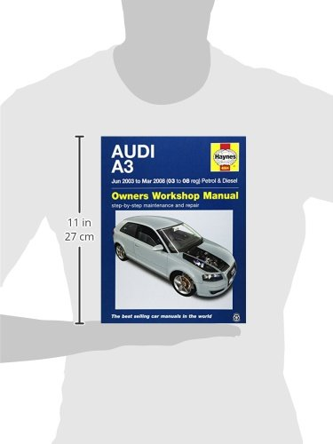 audi a3 03 08 haynes publishing 9780857339942 amazon com books rh amazon com Audi A3 TDI 2014 Audi A3